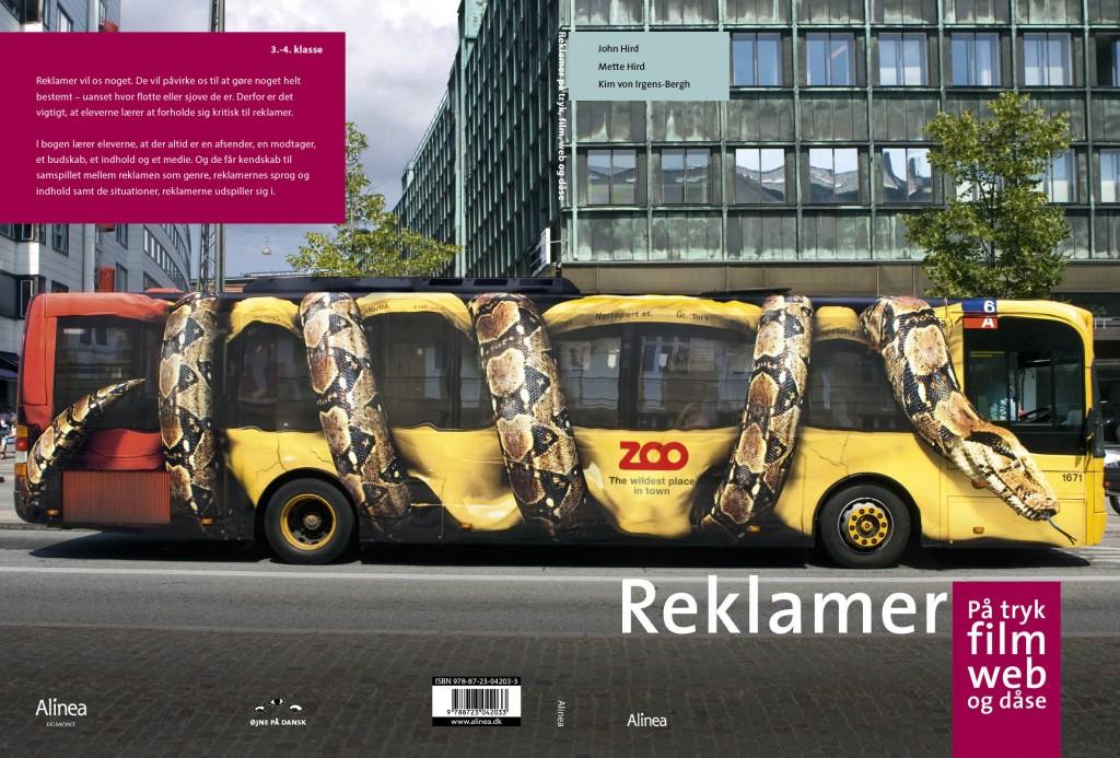 Reklamebogen omslag